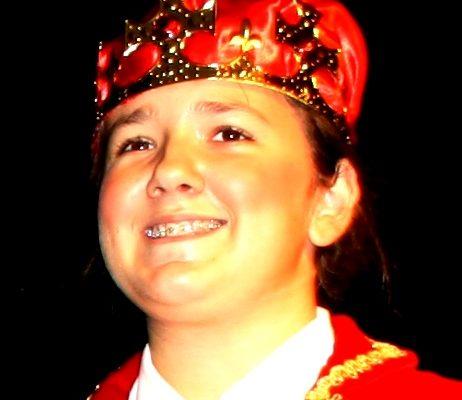 Leonie als König