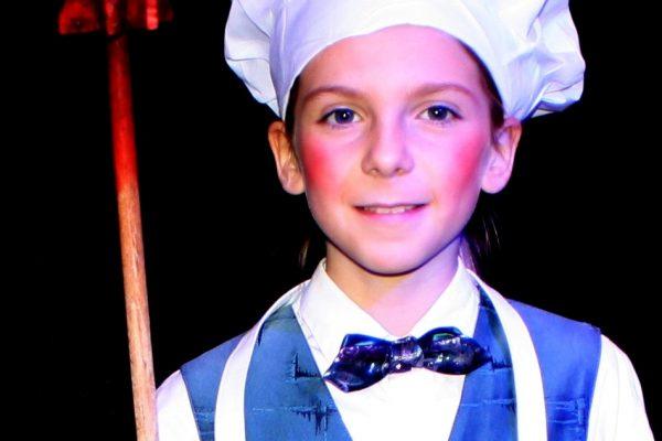 Ronja als Koch
