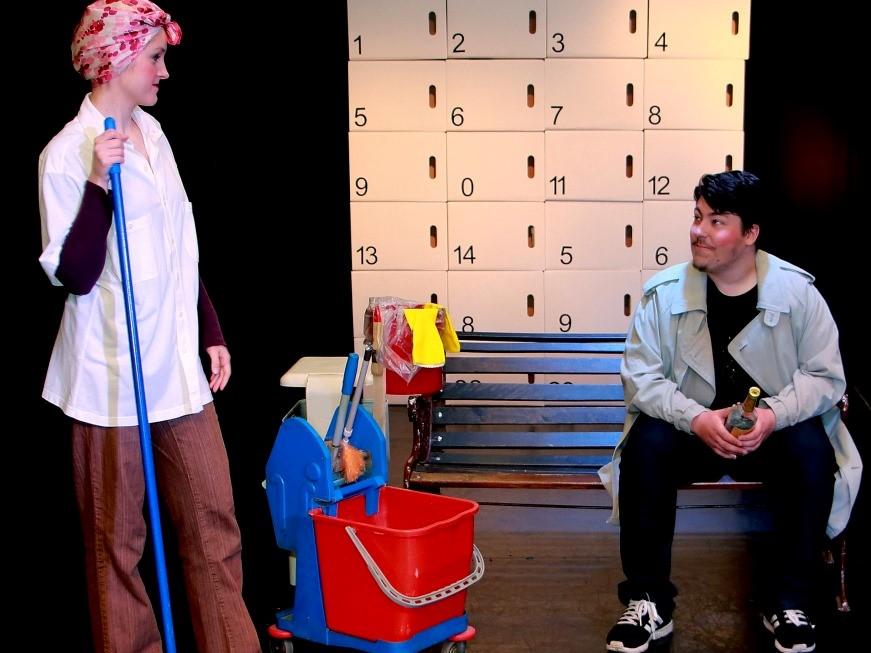 Die Musenkuss Theatergruppe spielt é 2016 das Stück
