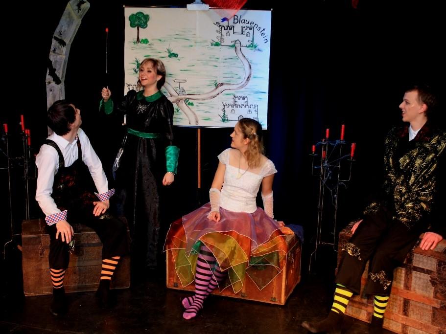 Die Theatergruppe der jungen Erwachsenen